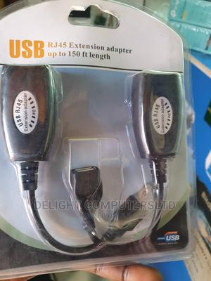 Usb Rj45 Extension Adapter -150 Ft | TV & DVD Equipment for sale in Lagos State, Ikeja