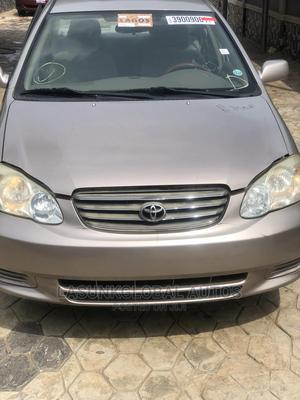 Toyota Corolla 2003 Sedan Automatic Gold | Cars for sale in Lagos State, Abule Egba