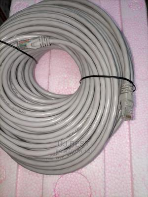 50 Meters CAT 6 Patch Ethernet LAN Cable | Accessories & Supplies for Electronics for sale in Lagos State, Ikeja