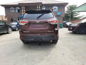 Toyota Highlander 2014 Red | Cars for sale in Lagos State, Amuwo-Odofin