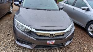 Honda Civic 2017 Gray   Cars for sale in Abuja (FCT) State, Katampe