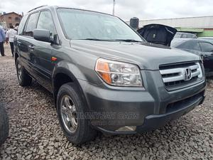 Honda Pilot 2008 EX 4x2 (3.5L 6cyl 5A) Gray | Cars for sale in Lagos State, Ikeja