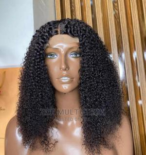 18 Inches Kinky Curl Wig   Hair Beauty for sale in Lagos State, Ikeja