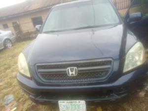 Honda Pilot 2005 EX 4x4 (3.5L 6cyl 5A) Blue | Cars for sale in Edo State, Benin City
