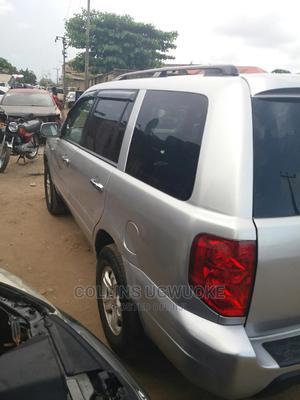 Honda Pilot 2004 EX-L 4x4 (3.5L 6cyl 5A) Silver | Cars for sale in Lagos State, Amuwo-Odofin