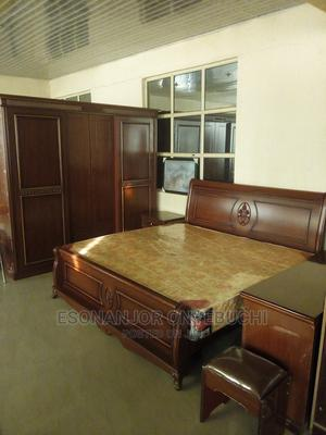 Matured Coffee Brown Bed Set | Furniture for sale in Abuja (FCT) State, Garki 2
