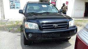 Toyota Highlander 2006 Limited V6 Black | Cars for sale in Lagos State, Amuwo-Odofin