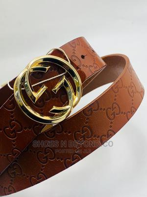 GUCCI LUXURY Leather Belts for Bosses | Clothing Accessories for sale in Lagos State, Lagos Island (Eko)