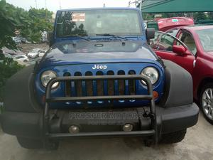 Jeep Wrangler 2010 Sport Blue   Cars for sale in Lagos State, Apapa