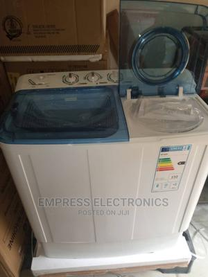 7.5kg Washing Machine Semi Automatic Wash and Spin | Home Appliances for sale in Lagos State, Ojo
