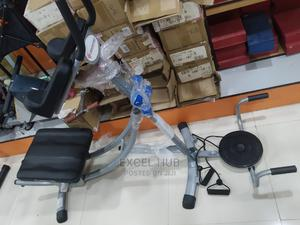 Ab Coaster With Dumbbell, Twister and Rope | Sports Equipment for sale in Lagos State, Surulere