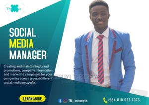 Social Media Manager | Computer & IT Services for sale in Oyo State, Ibadan