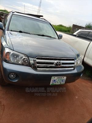 Toyota Highlander 2004 Limited V6 4x4 Blue | Cars for sale in Imo State, Owerri