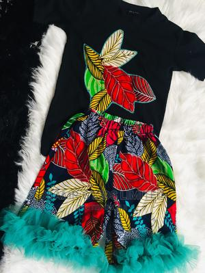 Ankara Polo and Shorts   Children's Clothing for sale in Lagos State, Lekki