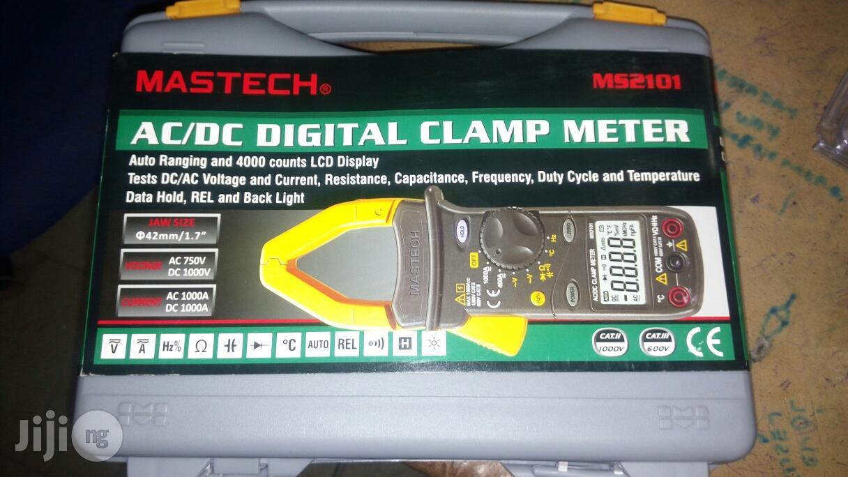 Mastech AC/DC Digital Clamp Meter