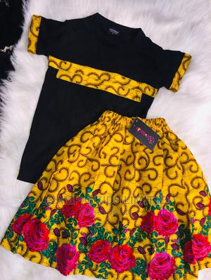 Ankara Polo and Skirts   Children's Clothing for sale in Lagos State, Lekki