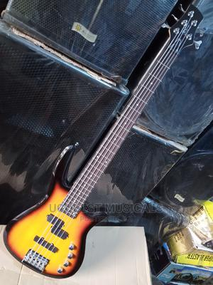 Quality 5 Strings Bass Guitar   Musical Instruments & Gear for sale in Lagos State, Mushin