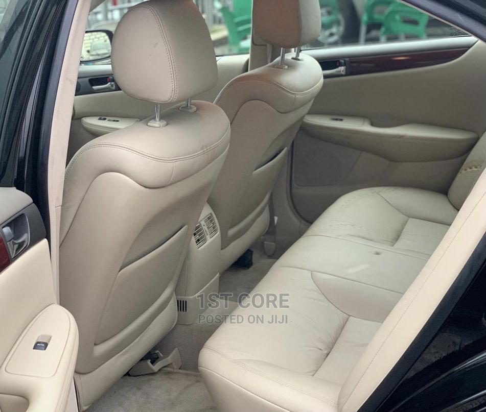 Lexus ES 2005 330 Black | Cars for sale in Ikeja, Lagos State, Nigeria