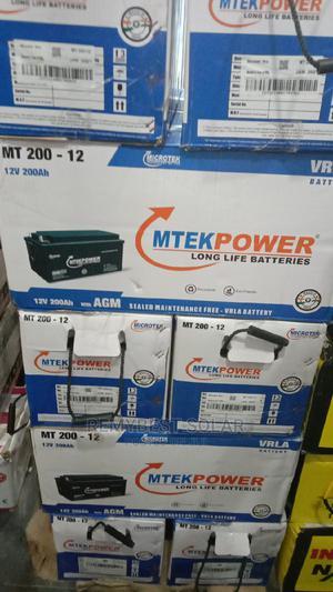 12v 200ahs Mtekpower Solar Battery   Solar Energy for sale in Lagos State, Ojo