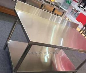 5 Fits Stainless Steel Working Table   Restaurant & Catering Equipment for sale in Lagos State, Ojo