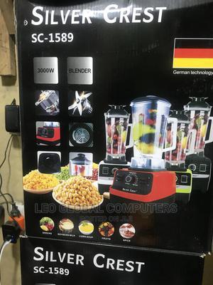 Silver Crest SC-1589 3000W Blender   Kitchen Appliances for sale in Lagos State, Ikeja