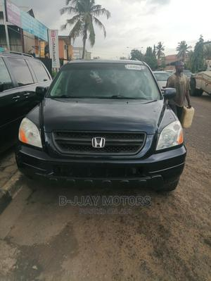 Honda Pilot 2005 EX-L 4x4 (3.5L 6cyl 5A) Blue | Cars for sale in Lagos State, Ikeja