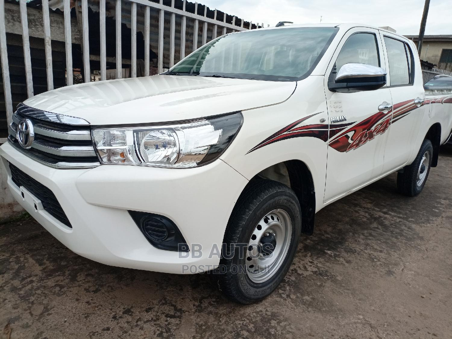 Toyota Hilux 2016 WORKMATE 4x4 White