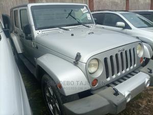 Jeep Wrangler 2009 3.8 Sahara 4x4 Silver | Cars for sale in Lagos State, Alimosho