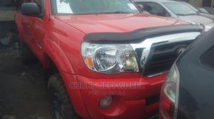 Toyota Tacoma 2008 4x4 Double Cab Red   Cars for sale in Lagos State, Isolo