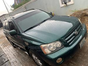 Toyota Highlander 2003 Green | Cars for sale in Lagos State, Alimosho