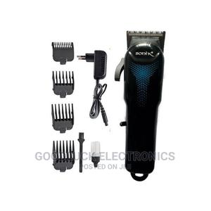 Sonik Rechargeable Hair Clippers With LED Battery Display | Tools & Accessories for sale in Lagos State, Ikeja