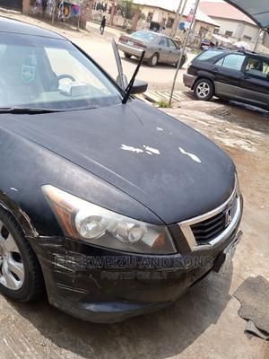 Honda Accord 2008 Black | Cars for sale in Abuja (FCT) State, Utako