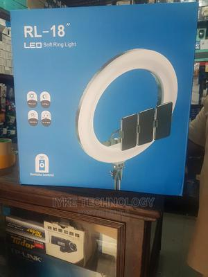 """LED Soft Ring Light RL18"""" 