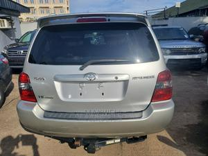 Toyota Highlander 2006 Limited V6 4x4 Silver | Cars for sale in Lagos State, Amuwo-Odofin