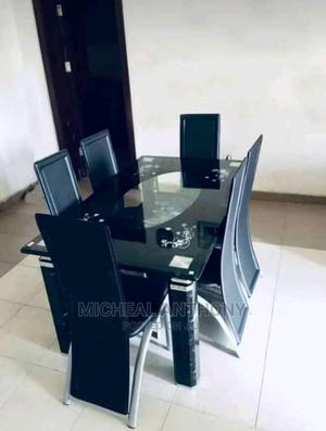 Quality Dining Table by 6 Chairs 24 Mm Glass   Furniture for sale in Plateau State, Jos