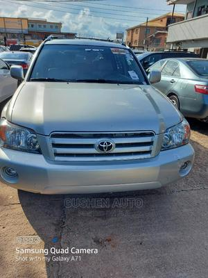 Toyota Highlander 2006 Limited V6 4x4 Silver | Cars for sale in Lagos State, Isolo