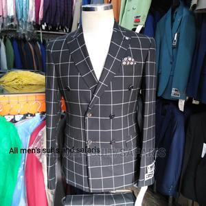 Check Double Breasted Suit   Clothing for sale in Lagos State, Yaba