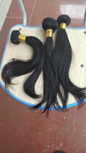 14 Inches Peruvian Straight Human Hair 300gramms | Hair Beauty for sale in Lagos State, Ikeja