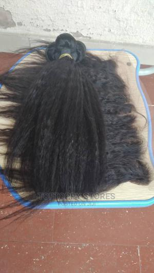 12inches Kinky Straight With Frontal Human Hair | Hair Beauty for sale in Lagos State, Ikeja