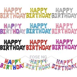 Happy Birthday Foil Balloon | Party, Catering & Event Services for sale in Lagos State, Yaba