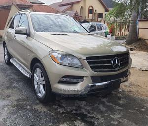 Mercedes-Benz M Class 2012 Gold   Cars for sale in Lagos State, Ikeja