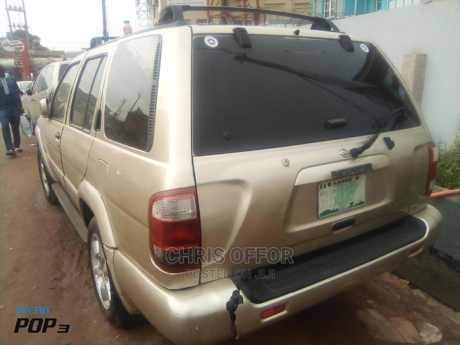 Nissan Pathfinder 2003 LE AWD SUV (3.5L 6cyl 4A) Gold   Cars for sale in Yaba, Lagos State, Nigeria