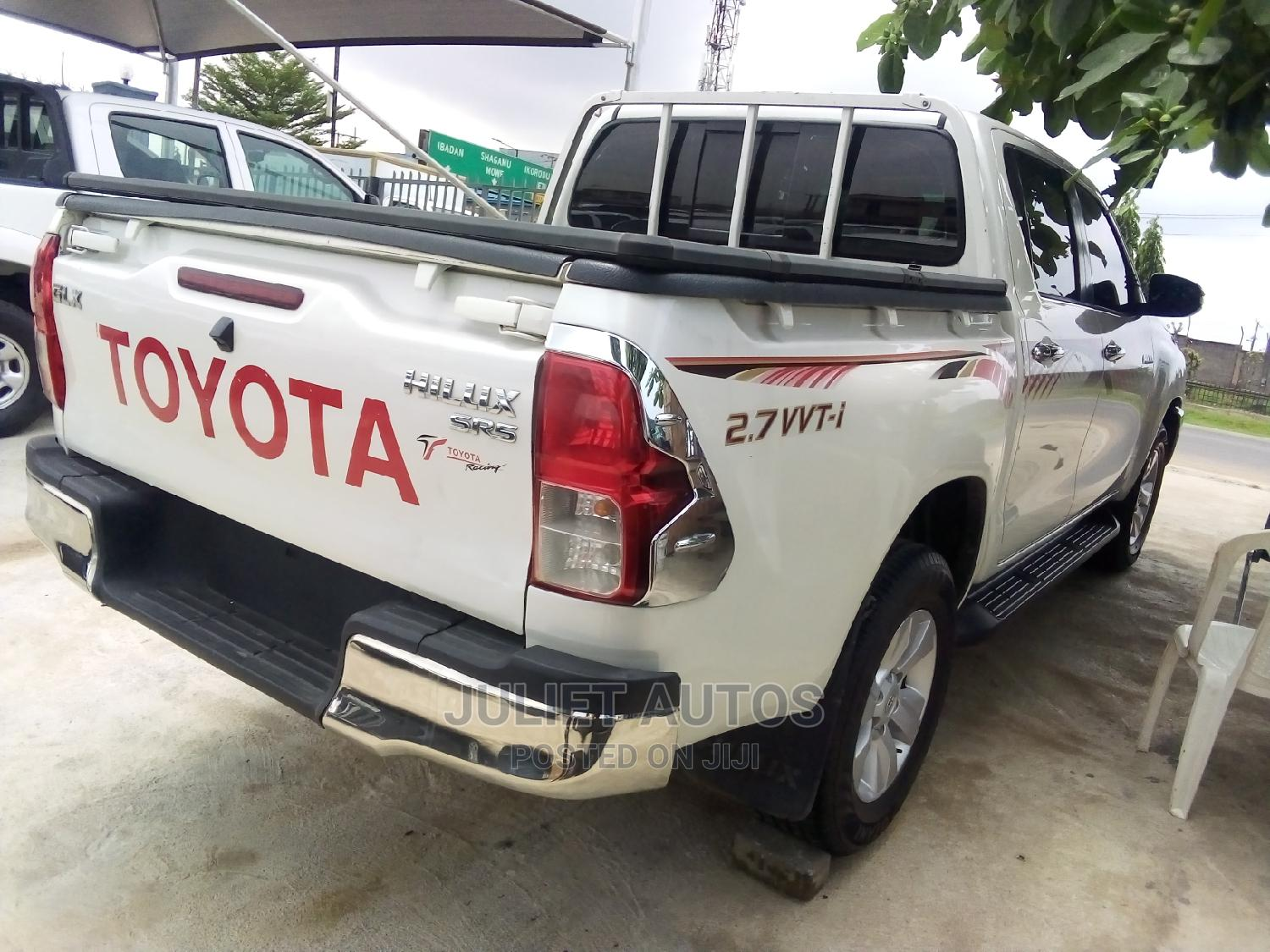 New Toyota Hilux 2019 White   Cars for sale in Ikeja, Lagos State, Nigeria