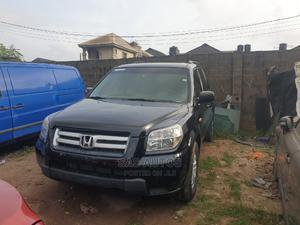 Honda Pilot 2007 LX 4x4 (3.5L 6cyl 5A) Black | Cars for sale in Lagos State, Egbe Idimu
