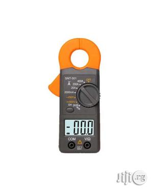 Portable LCD Digital Multimeter Clamp Meter SNT301 | Measuring & Layout Tools for sale in Lagos State
