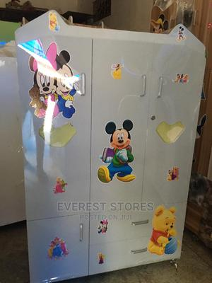 White Character Baby Wardrobe | Children's Furniture for sale in Lagos State, Ikoyi
