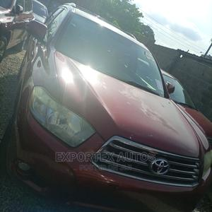 Toyota Highlander 2008 Red   Cars for sale in Lagos State, Ikeja