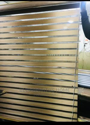 Nude Colour Wooden Window Blinds   Home Accessories for sale in Lagos State, Ogudu