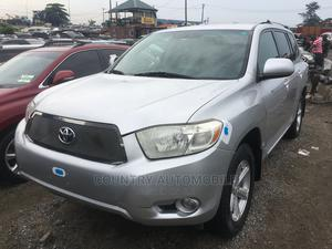 Toyota Highlander 2008 Sport Silver | Cars for sale in Lagos State, Apapa