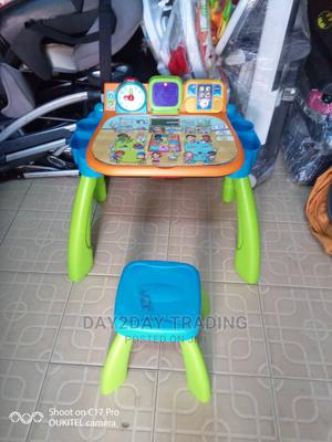 Tokunbo Uk Used Vtech Activities Learning Table and Chair   Children's Furniture for sale in Lagos State, Ikeja